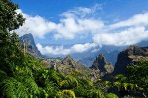 Volcano Mafate on Reunion - image by shutterstock