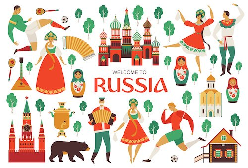Map Of Russia For Kids.Russia Facts For Kids Russia For Kids Geography People Food