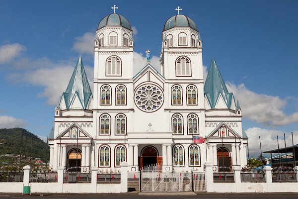 Samoa's Immaculate Conception Cathedral in Apia