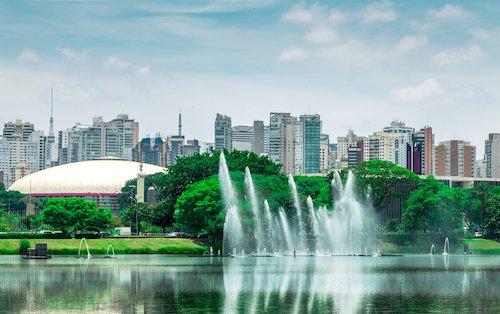 Sao Paolo in Brazil