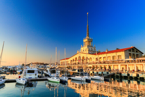 Port of Sochi in Russia - image by Goncharovaia / Shutterstock.com