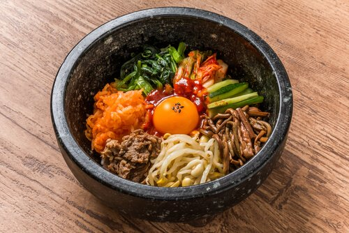 Korean food Bibimbap - image by Shutterstock