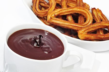 spain spanish churros chocolate con facts food sweet drink typical cafe snack popular dipping travel madrid churro doughnuts sauce guide