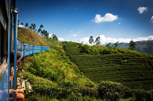 On the road to Kandy/Sri Lanka