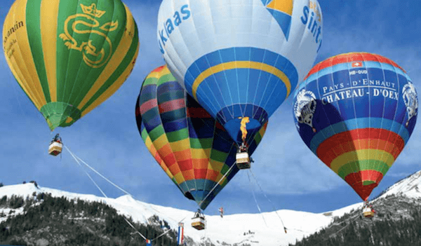 International Hot Air Balloon Festival in Switzerland - Festival de Ballons