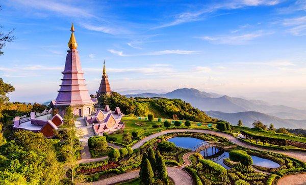 Doi Inthanon is Thailand's highest mountain