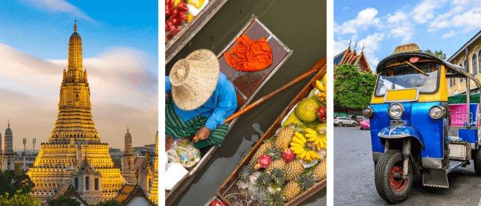Thailand impressions: Wat Arun | Floating Market | Tuk Tuk