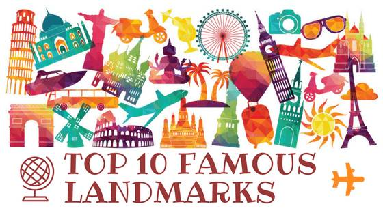 Map Of Australia With Landmarks.Top 10 Famous Landmarks In The World Most Famous Man Made Monuments