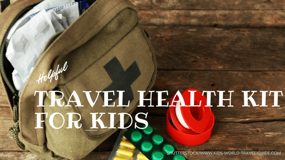Travel Health Kit for Kids