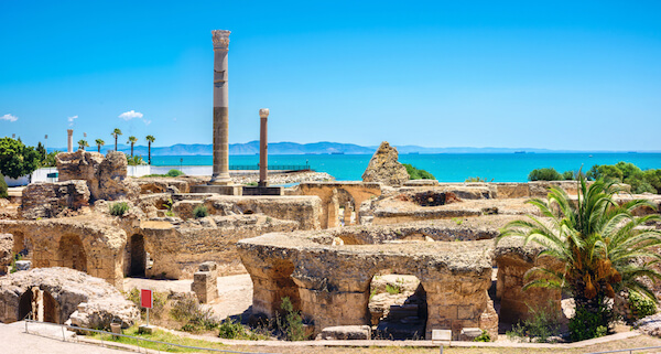 Ancient ruins of Carthage, Tunisia