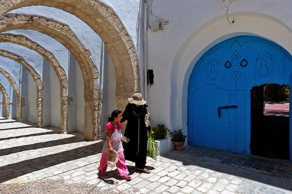 Women in Tunisia - image by BTW Images