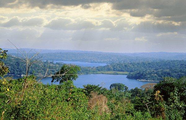 Lake Victoria in Uganda