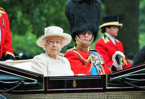 Queen Elizabeth II and Prince Philipp - image by Lorna Roberts