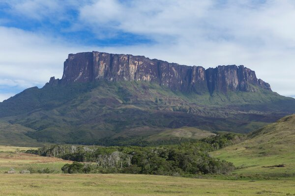 Venezuelan tepui mountaintop in Canaima National Park