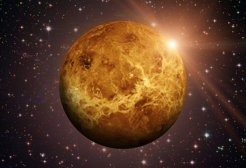 Venus planet - image by NASA/Shutterstock