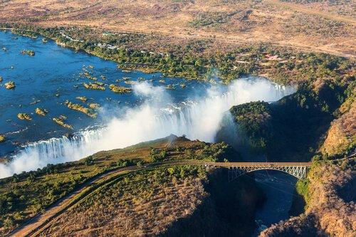 Zambia Victoria Falls by Vadim Petrakov
